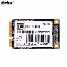 Beli Kingspec 32 Gb Mini Pci E Msata 4 57 Cm 6 Gb S Ssd Internal Solid State Drive Hitam Seken