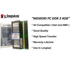 Kingston  - Kingston Ddr3 4Gb Ram Pc