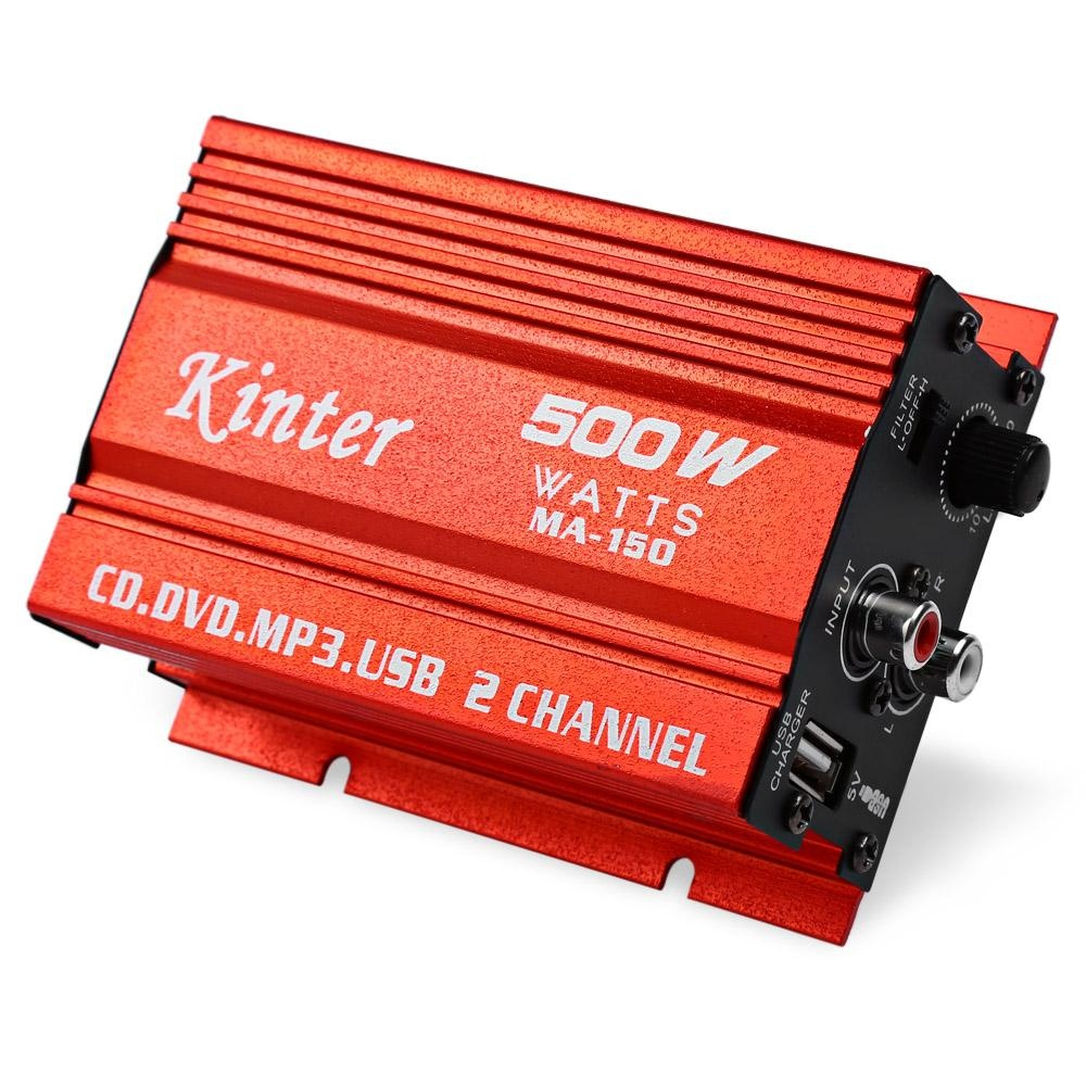 Promo Kinter Ma 150 20 W X 2 5 V Mini Hi Fi Stereo Digital Power Amplifier Mp3 Mobil Audio Speaker Intl Tiongkok