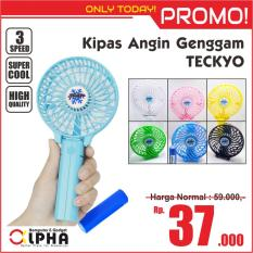 Kipas Angin Genggam / Gagang TECKYO Handy Portable Mini Fan - High Quality