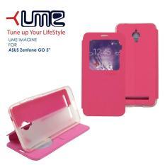 (Kirim Sore Ini) Flip Soft Case UME Imagine ASUS ZE500TG (Zenfone Go 5)