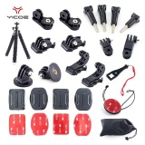 Kit Case Tripod 360 Rotasi Wrist Strap Mount Untuk Action Camera Accessories Intl Oem Murah Di Tiongkok