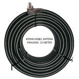 Beli Kitani Kabel Antena Tv Tanpa Booster Kitani 5C 2V Rg 6 Panjang 25 Meter Baru
