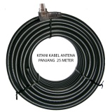 Tips Beli Kitani Kabel Antena Tv Tanpa Booster Kitani 5C 2V Rg 6 Panjang 25 Meter Yang Bagus