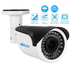 Kkmoon 1080 P AHD 2.8 ~ 12 Mm Manual Zoom Lensa Varifokal Peluru Kamera Analog CCTV 1/3