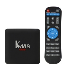 KM8 Pro Smart Android TV Box Android 6.0 Amlogic S912 64 bit Octa core VP9 4K UHD 4K 2G / 8G Mini PC 2.4G & 5.0G Dual Band W