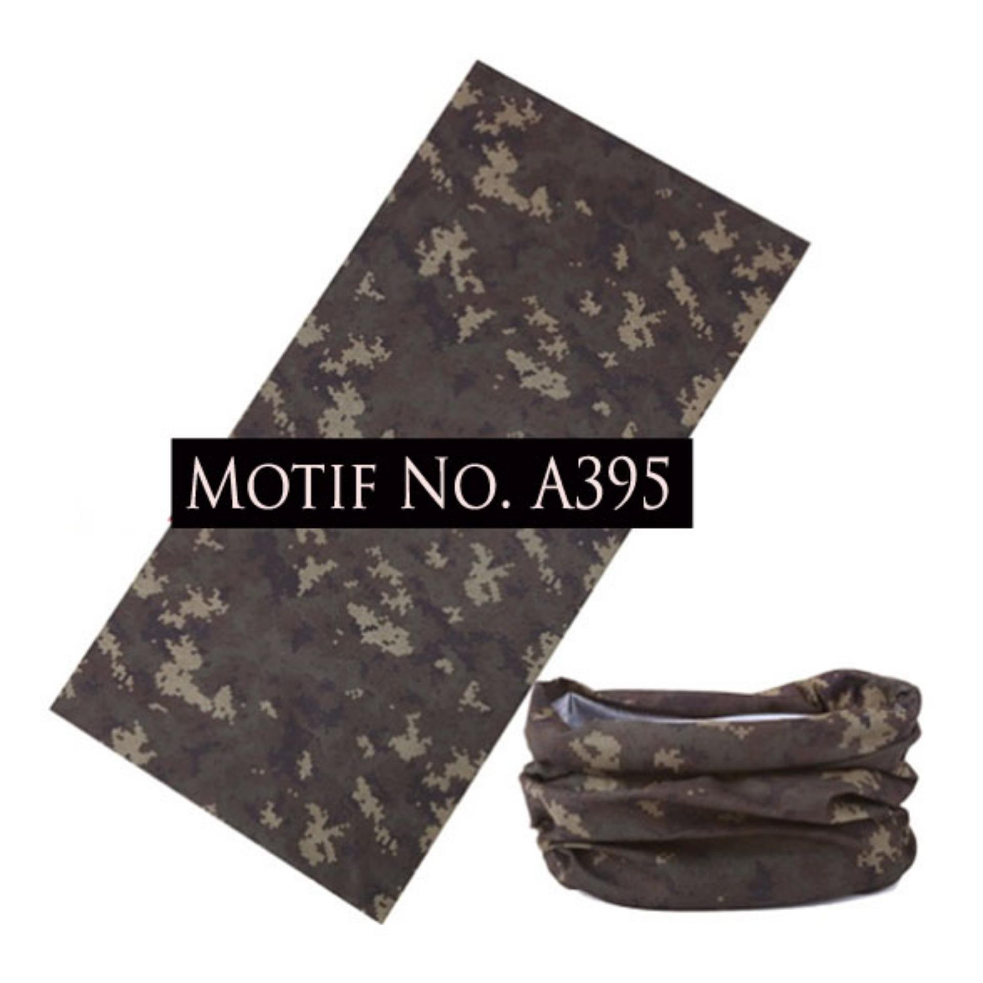 KMBuff Headband Serbaguna Motif Army A395