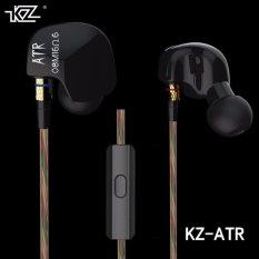 Jual Knowledge Zenith Hifi Earphones Microphone Edition Kz Atr Branded