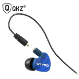 Jual Knowledge Zenith Sport Detachable Cables In Ear Earphones With Microphone Qkz W1 Pro Blue Original