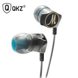 Harga Knowledge Zenith Stereo Bass In Ear Earphones With Microphone Qkz Dm7 Black New