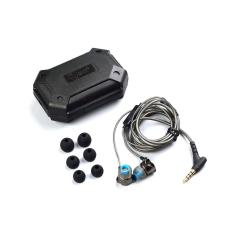 Beli Knowledge Zenith Stereo Bass In Ear Earphones With Microphone Qkz Dm7 Black Online Murah