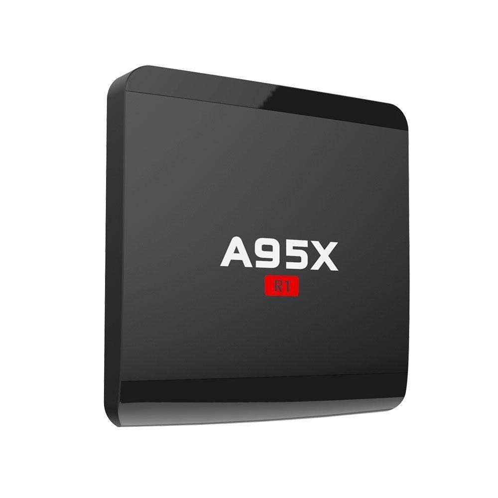 Kobwa Csler® A95X R1 Android 6.0 Rockchip Quad-core Cortex A7 32bit 4 K Video Ultimate HD Smart TV Box-Intl