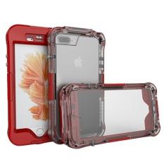 Kobwa Jiie® 3in1 Terbaru Yang Disempurnakan Tahan Air Tahan Kotoran Sidik Jari Tombol Smartphone Case untuk iPhone 7 Plus-Internasional