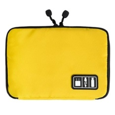kobwa Travel Cable Organiser Electronic Accessories TravelBags.Yellow