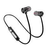 Jual Kobwa X3 Bluetooth Earphone 4 1 Neckband Logam Magnet Wireless Headset Dengan Mikrofon Intl Branded
