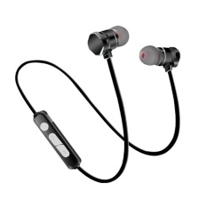 Beli Kobwa X3 Bluetooth Earphone 4 1 Neckband Logam Magnet Wireless Headset Dengan Mikrofon Intl Pakai Kartu Kredit