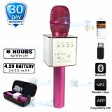 Kokakaa Micgeek Q9X Karaoke Microphone Bluetooth Wireless Usb Portable Rechargeable Pink Indonesia