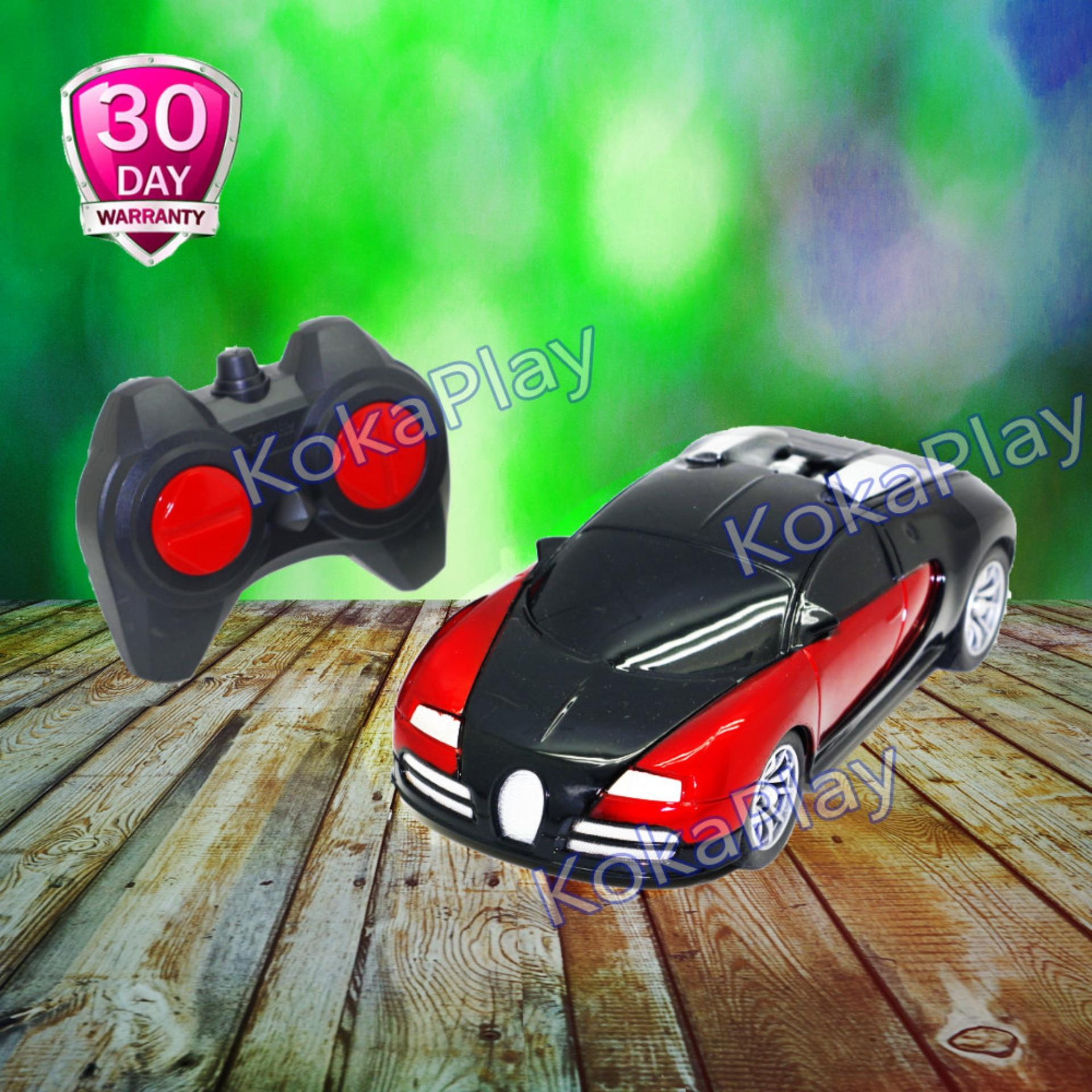 Harga Kokaplay Rc Bugatti Veyron Mainan Mobil Radio Remote Control Luxury Sports Car Asli Kokaplay