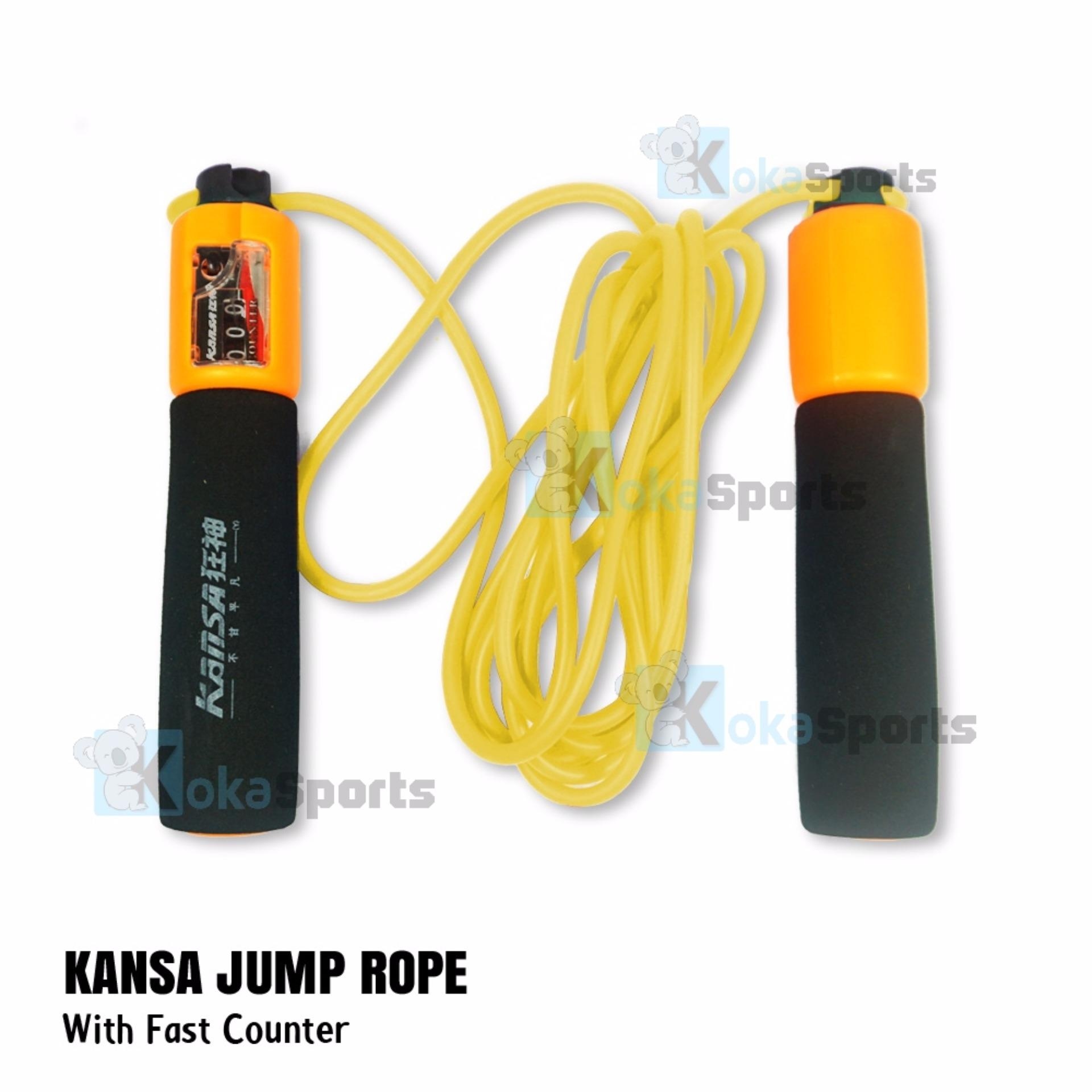 Kokasports Kansa kS322 Skipping Jump Rope Lompat Tali With Counter