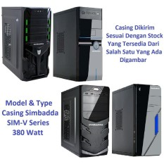 Komputer / PC Rakitan A4 6300 - Include AMD Radeon HD8370 - Casing Simbadda