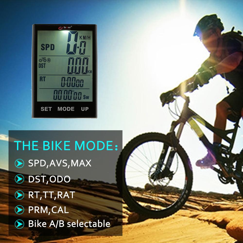 Jual Komputer Sepeda Speedometer Sepeda Odometer Suhu Lampu Latar Tahan Air Untuk Bersepeda Sepeda Multi Fungsi Internasional Oem Grosir