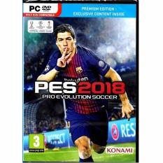 KONAMI PC DVD ROM PES 2018 - Pro Evolution Soccer 2018