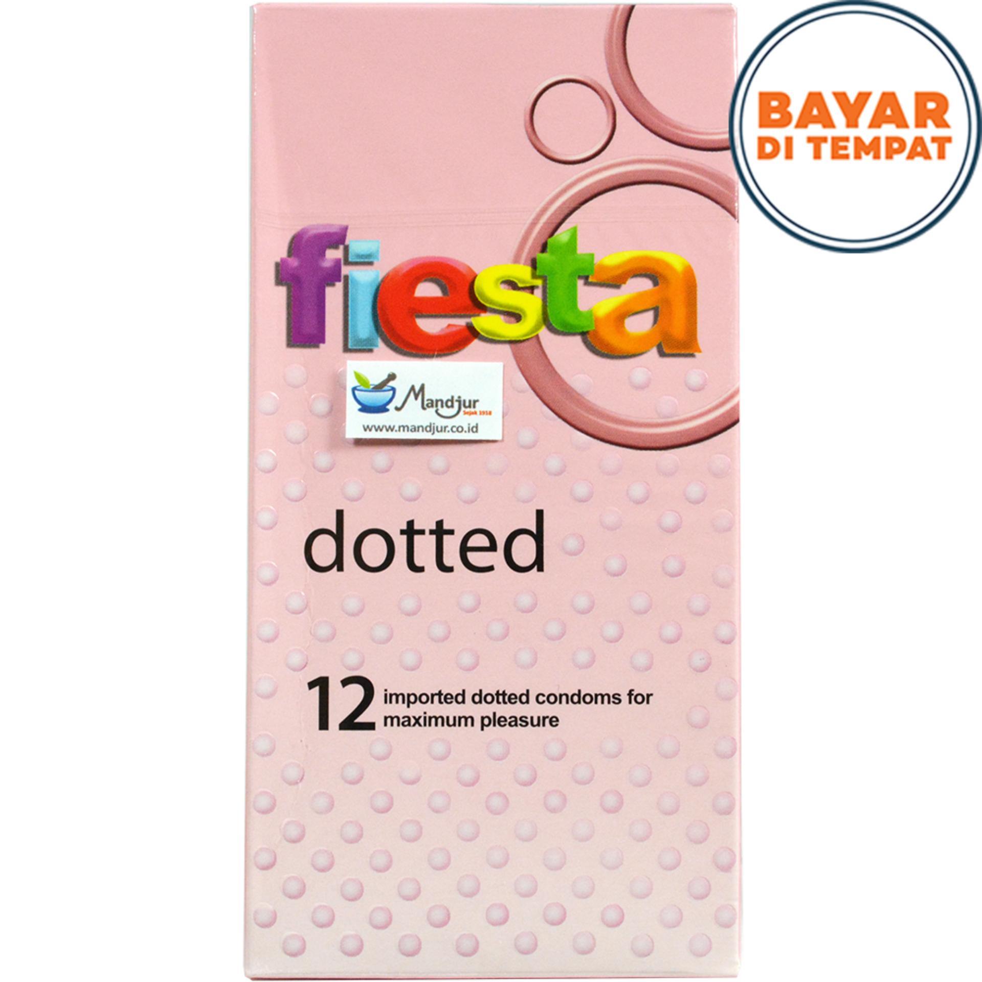 Kondom Fiesta Dotted - Isi 12
