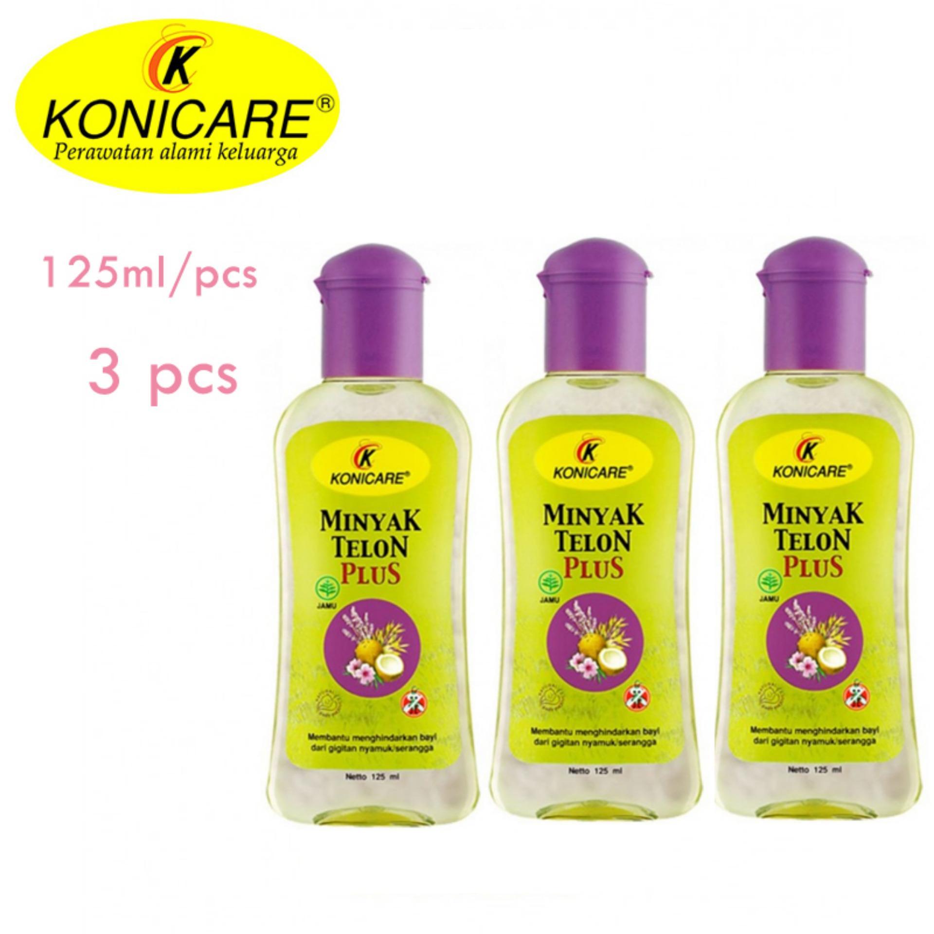Toko Konicare Minyak Telon Plus 125 Ml 3 Pcs Terlengkap