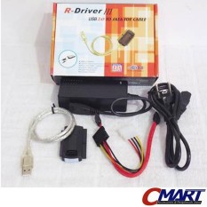 Konverter Kabel Data Usb 2.0 To Sata / Esata / Ide Cable Grc-Sata-2352 By Cmart Computer.