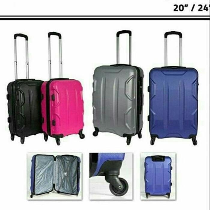 Koper Murah 20 Inch Cabin Size Polo Fiber Free Ongkir Jakarta Depok Ta