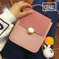 Tas ponsel perempuan tas tangan Kain Layar Besar Murid minimalis Korea Selatan netral kecil ...