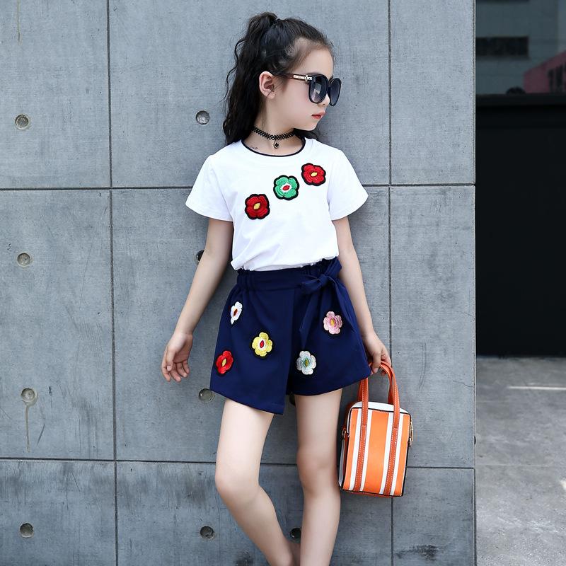 Celana Pendek Korea Modis Gaya Gadis Baru Remaja (Putih)