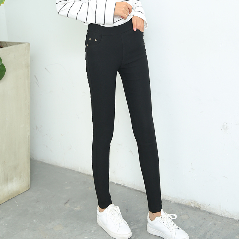 Harga Legging Korea Fashion Style Hitam Legging Pakaian Luar Hitam Clinch Model Online
