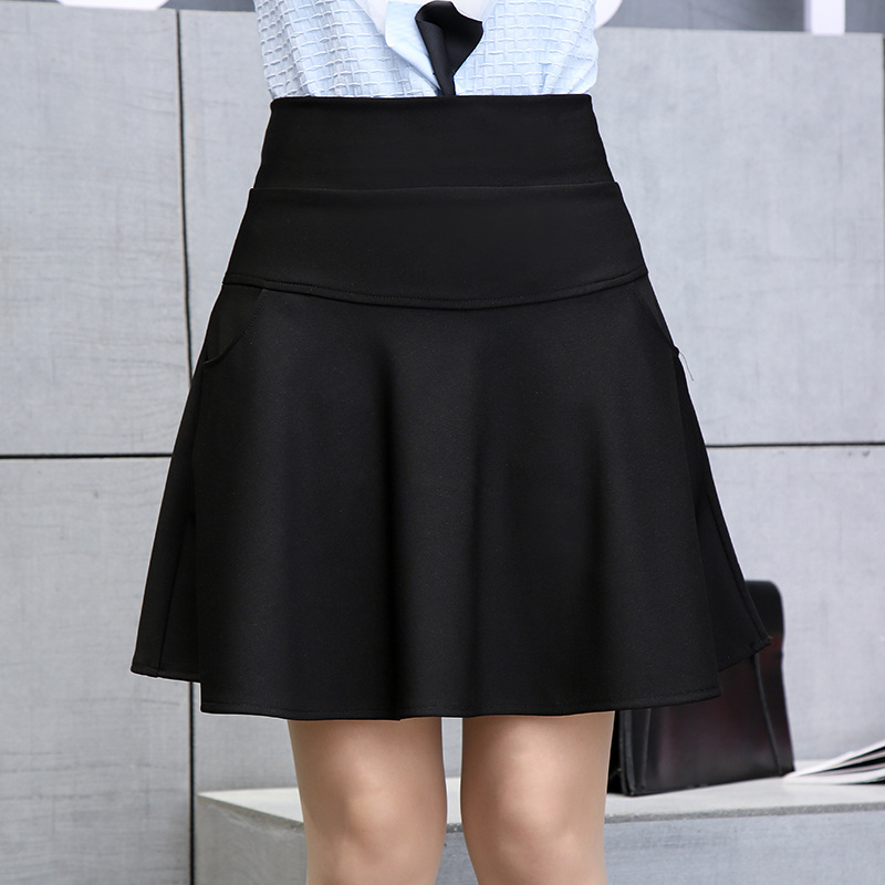Spesifikasi Korea Fashion Style Musim Gugur Baru Perempuan Rok Yard Besar Rok Rok Hitam Baju Wanita Rok Other Terbaru