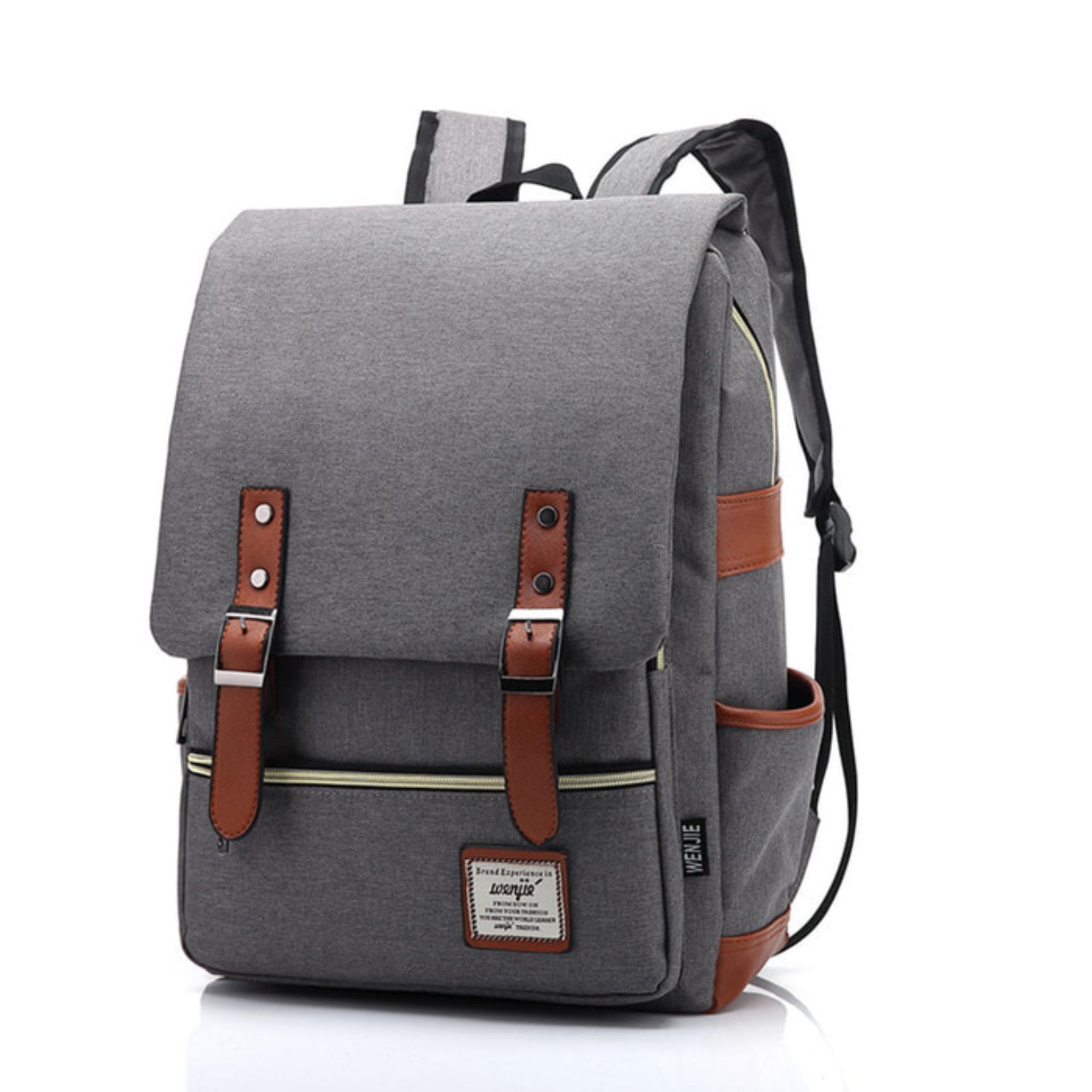 Korean Style Backpack / Tas Ransel / Tas Sekolah Kuliah Kerja Travel