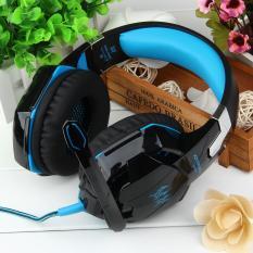 KOTION SETIAP G2000 Game Over-ear Headset Earphone Headband W/Mic Stereo Bass untuk PC-Internasional