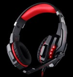 Harga Kotion Setiap G9000 3 5Mm Game Headphone Merah Dan Spesifikasinya