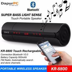 Harga Kr 8800 Touch Rechargeable Portable Bluetooth Wireless Speaker Dki Jakarta