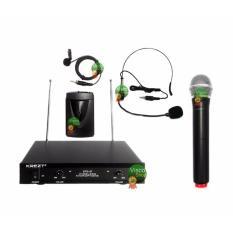 Krezt DTD 37 HL-HTL Microphone Wireless Headset – Clip On - Handheld