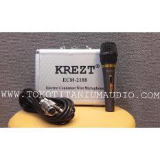 Ulasan Lengkap Tentang Krezt Ecm 2188 Condenser Microphone Hitam