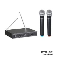 Toko Krezt Microphone Wireless Dtd 37 Hh Mic Mik Pegang Genggam Handheld Terdekat