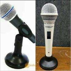krezt NB32 ORIGINAL NB33 stand mic meja mini holder pegangan microphone stand penyangga mic free holder mic bisa buat mic kabel GRATIS ONGKOS KIRIM