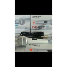Beli Krezt Pro9900W 100 Original Mic Mik Profesional Kabel Mikrophone Microphone Cable Vocal Legendaris Artis Orignal Asli Seken