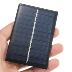 Kurry 6 V 0.6 W Solar Panel Poli DIY Charger Sel Kecil untuk Baterai Ringan Ponsel-Intl