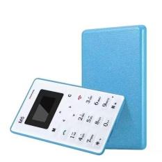 Jual Kurry Cheanp Blue Mini Pocket Kartu Telepon Aiek M5 Gsm Alarm Jam Radiasi Rendah Intl Murah