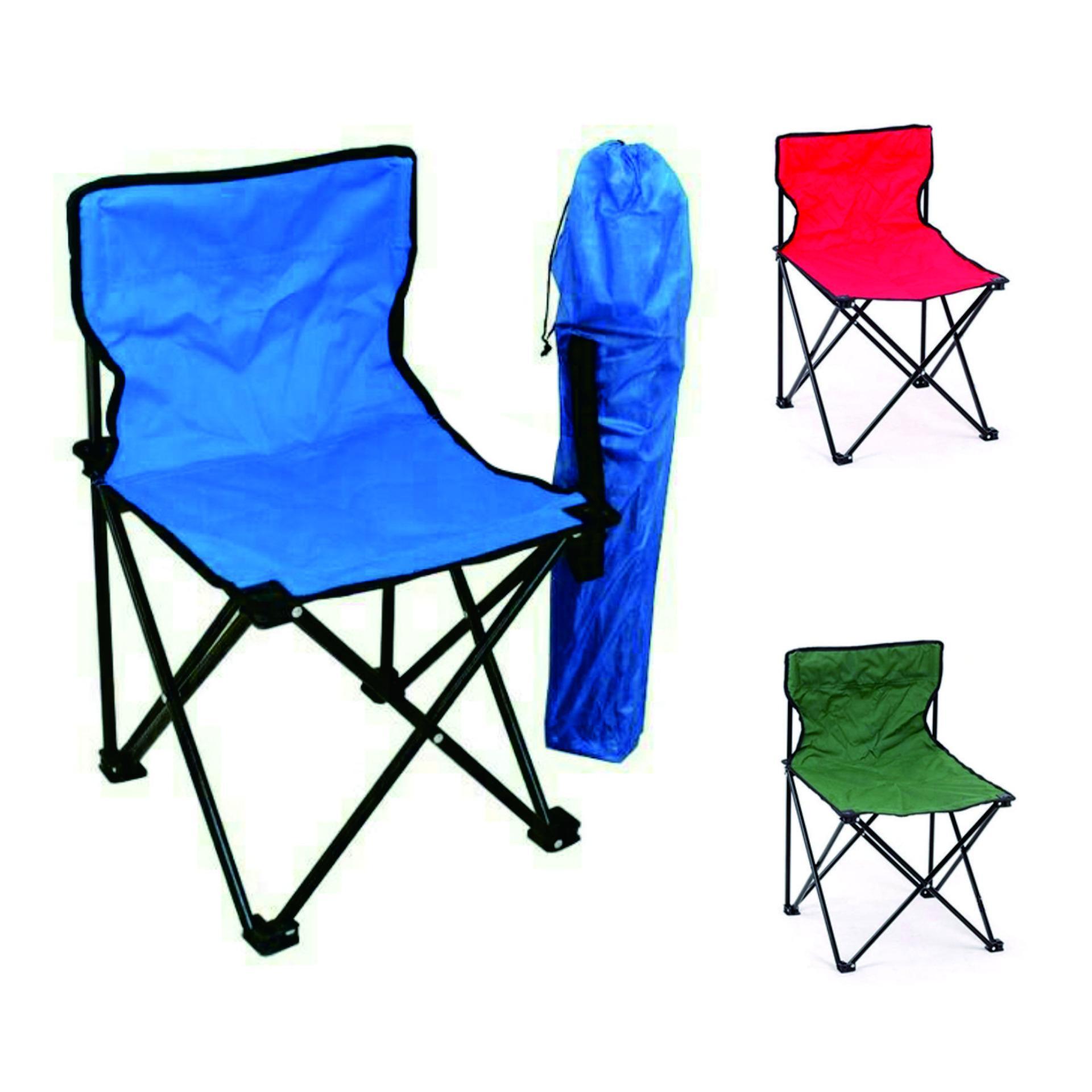 Kursi Lipat Portabel Ringan Kokoh Simpel Praktis Untuk Camping Mancing Pantai Travel Kegiatan Outdoor