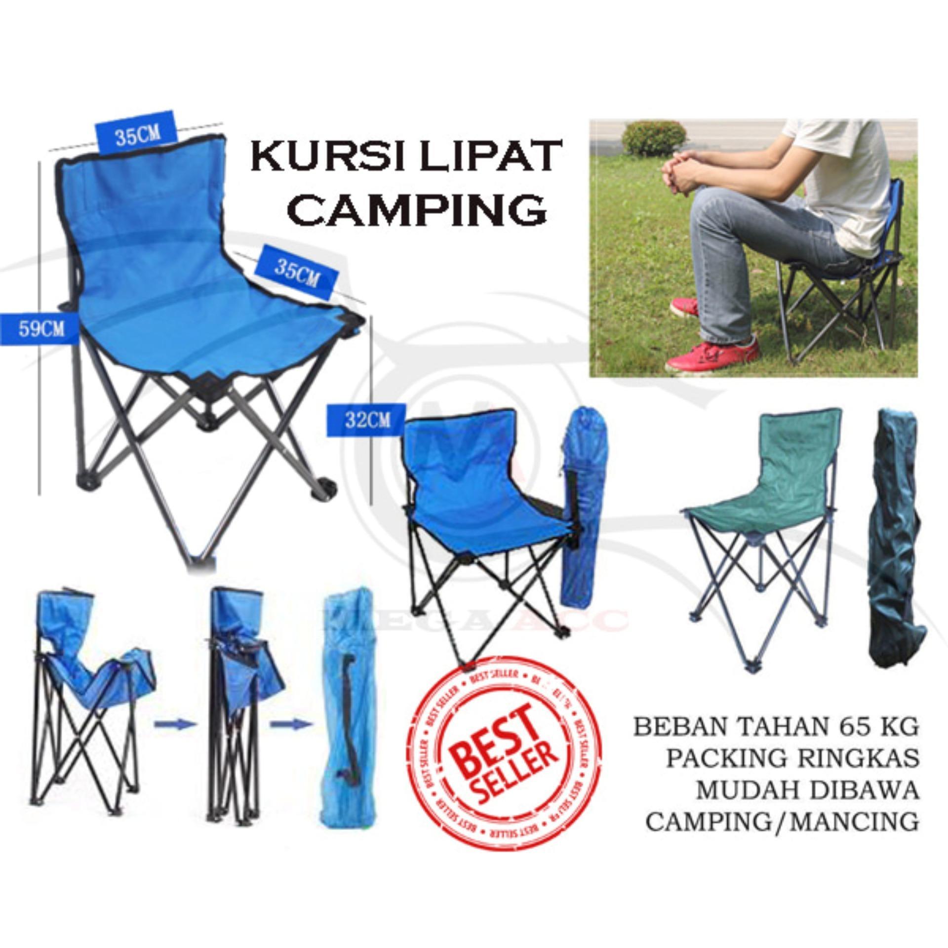 Kursi Lipat Sandaran Portable Camping