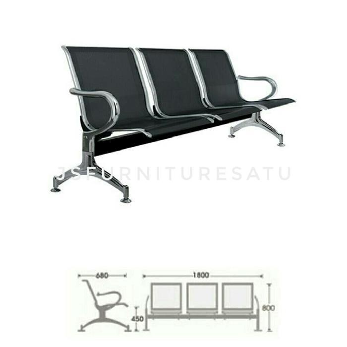 Kursi tunggu /waiting chair PS-53-S- Indachi