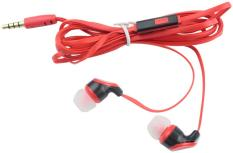 KuRun 3.5mm Mie Datar Bentuk Yg In-Ear Earphone Headphone dengan Kabel TPE dan Silicone Earcap (Ungu, 1.2 M)-Intl