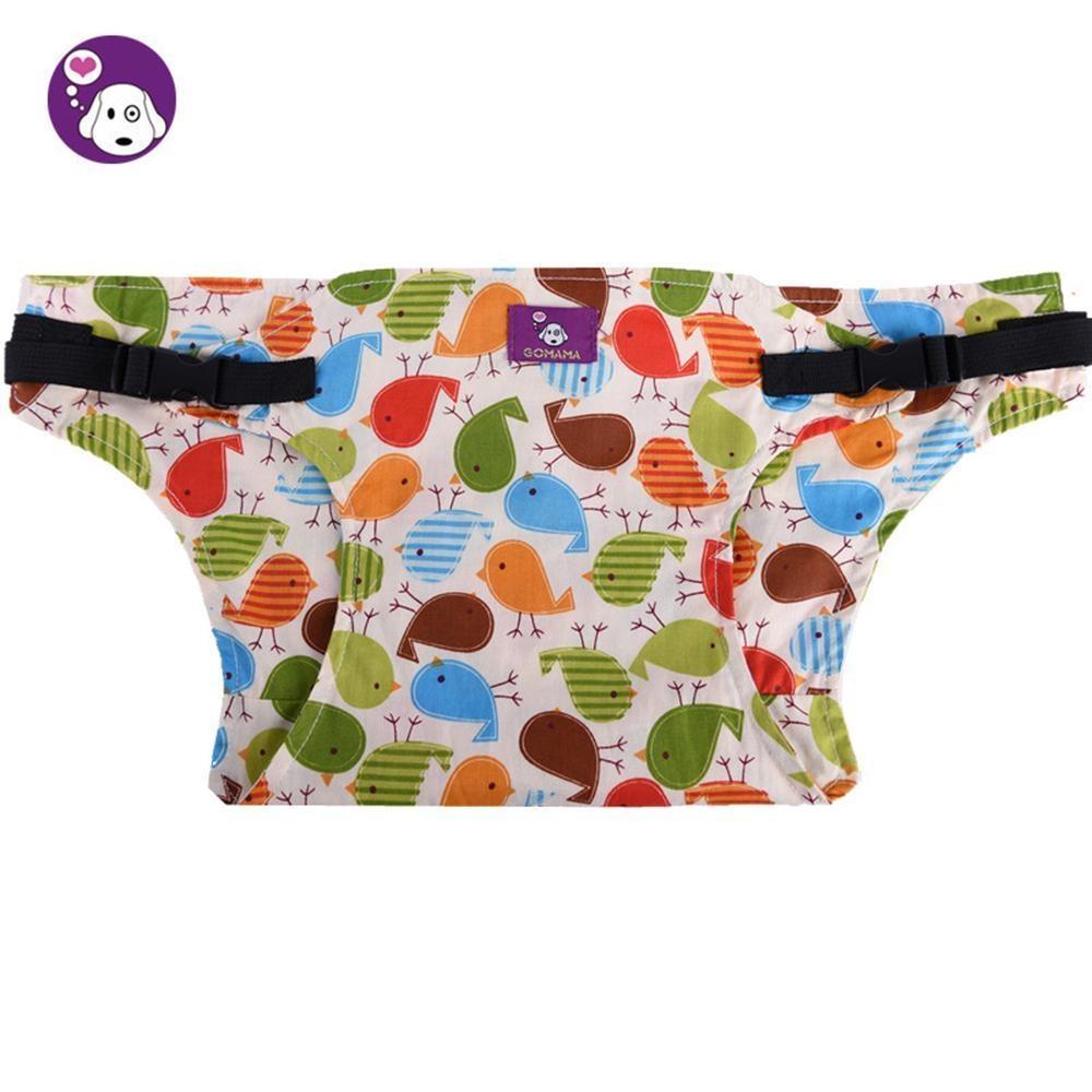 KuRun Murni Kapas Balita Baby Makan Kursi Tinggi Rangkaian Booster Travel Outdoor Car Portable Safety Seat Belt Strap, Burung-Intl